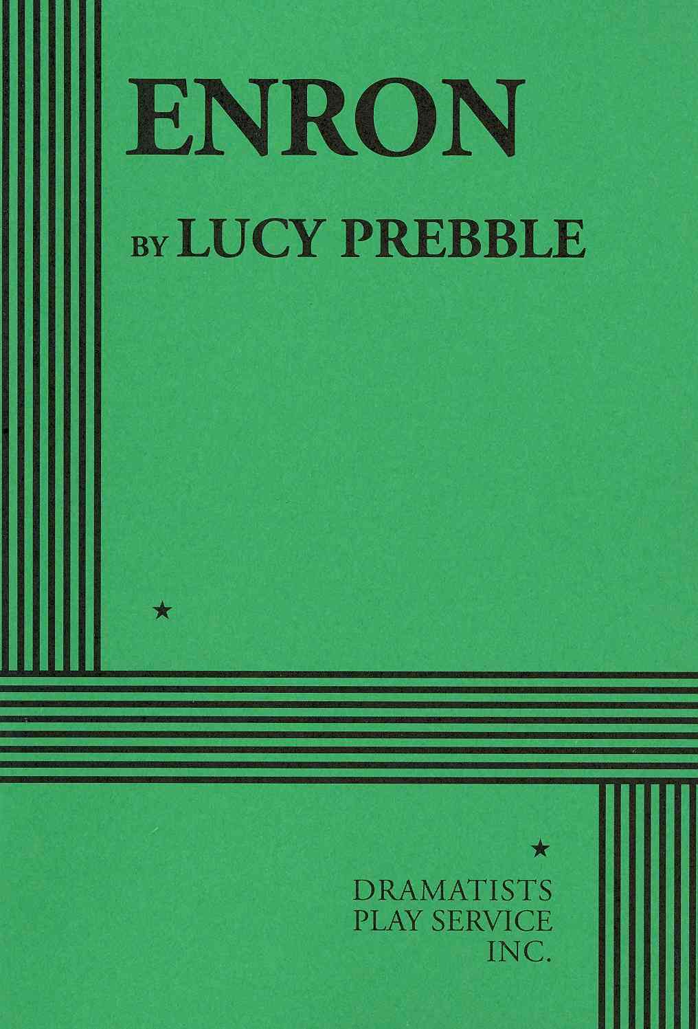 Enron By Prebble, Lucy